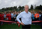 16 August 2019; Republic of Ireland manager Mick McCarthy at the official opening of an all-weather pitch at Salthill Devon FC following a Republic of Ireland squad announcement in Galway. Photo by Stephen McCarthy/Sportsfile