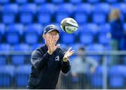 17 August 2019; Leinster head coach Leo Cullen during the Bank of Ireland pre-season friendly match between Leinster and Coventry at Energia Park in Donnybrook, Dublin. Photo by Eóin Noonan/Sportsfile
