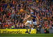 18 August 2019; Walter Walsh of Kilkenny in action against John McGrath of Tipperary during the GAA Hurling All-Ireland Senior Championship Final match between Kilkenny and Tipperary at Croke Park in Dublin. Photo by Eóin Noonan/Sportsfile