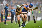 18 August 2019; Padraig Walsh of Kilkenny in action against John McGrath of Tipperary during the GAA Hurling All-Ireland Senior Championship Final match between Kilkenny and Tipperary at Croke Park in Dublin. Photo by Brendan Moran/Sportsfile