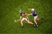 18 August 2019; John Donnelly of Kilkenny in action against Niall O'Meara of Tipperary during the GAA Hurling All-Ireland Senior Championship Final match between Kilkenny and Tipperary at Croke Park in Dublin. Photo by Stephen McCarthy/Sportsfile