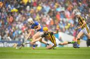 18 August 2019; Brendan Maher of Tipperary in action against Colin Fennelly of Kilkenny during the GAA Hurling All-Ireland Senior Championship Final match between Kilkenny and Tipperary at Croke Park in Dublin. Photo by Eóin Noonan/Sportsfile