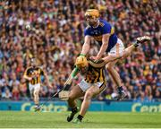 18 August 2019; Ronan Maher of Tipperary in action against Colin Fennelly of Kilkenny during the GAA Hurling All-Ireland Senior Championship Final match between Kilkenny and Tipperary at Croke Park in Dublin. Photo by Sam Barnes/Sportsfile