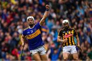 18 August 2019; Niall O'Meara of Tipperary celebrates after scoring his side's first goal during the GAA Hurling All-Ireland Senior Championship Final match between Kilkenny and Tipperary at Croke Park in Dublin. Photo by Brendan Moran/Sportsfile