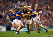 18 August 2019; Colin Fennelly of Kilkenny  in action against Cathal Barrett of Tipperary during the GAA Hurling All-Ireland Senior Championship Final match between Kilkenny and Tipperary at Croke Park in Dublin. Photo by Eóin Noonan/Sportsfile