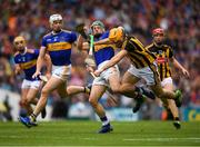 18 August 2019; Colin Fennelly of Kilkenny  is tackled by Cathal Barrett of Tipperary during the GAA Hurling All-Ireland Senior Championship Final match between Kilkenny and Tipperary at Croke Park in Dublin. Photo by Eóin Noonan/Sportsfile