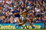 18 August 2019; Niall O'Meara of Tipperary runs inside Conor Fogarty of Kilkenny on his way to scoring his side's first goal during the GAA Hurling All-Ireland Senior Championship Final match between Kilkenny and Tipperary at Croke Park in Dublin. Photo by Brendan Moran/Sportsfile