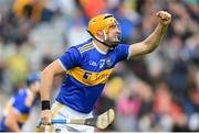 18 August 2019; Séamus Callanan of Tipperary celebrates after scoring his side's second goal during the GAA Hurling All-Ireland Senior Championship Final match between Kilkenny and Tipperary at Croke Park in Dublin. Photo by Eóin Noonan/Sportsfile
