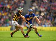 18 August 2019; John O'Dwyer of Tipperary  in action against Paddy Deegan of Kilkenny during the GAA Hurling All-Ireland Senior Championship Final match between Kilkenny and Tipperary at Croke Park in Dublin. Photo by Eóin Noonan/Sportsfile