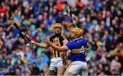 18 August 2019; Colin Fennelly of Kilkenny in action against Ronan Maher of Tipperary during the GAA Hurling All-Ireland Senior Championship Final match between Kilkenny and Tipperary at Croke Park in Dublin. Photo by Brendan Moran/Sportsfile