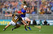 18 August 2019; Padraic Maher of Tipperary in action against Cillian Buckley of Kilkenny during the GAA Hurling All-Ireland Senior Championship Final match between Kilkenny and Tipperary at Croke Park in Dublin. Photo by Piaras Ó Mídheach/Sportsfile