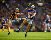 18 August 2019; Niall O'Meara of Tipperary  in action against Paul Murphy of Kilkenny during the GAA Hurling All-Ireland Senior Championship Final match between Kilkenny and Tipperary at Croke Park in Dublin. Photo by Eóin Noonan/Sportsfile