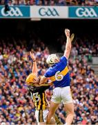 18 August 2019; Padraic Maher of Tipperary in action against Billy Ryan of Kilkenny during the GAA Hurling All-Ireland Senior Championship Final match between Kilkenny and Tipperary at Croke Park in Dublin. Photo by Stephen McCarthy/Sportsfile