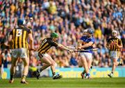 18 August 2019; Jason Forde of Tipperary scores a point despite the attention of Paul Murphy of Kilkenny during the GAA Hurling All-Ireland Senior Championship Final match between Kilkenny and Tipperary at Croke Park in Dublin. Photo by Eóin Noonan/Sportsfile