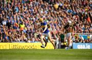 18 August 2019; Mark Kehoe of Tipperary  in action against Paddy Deegan of Kilkenny during the GAA Hurling All-Ireland Senior Championship Final match between Kilkenny and Tipperary at Croke Park in Dublin. Photo by Eóin Noonan/Sportsfile