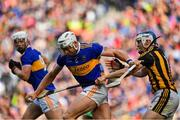 18 August 2019; Padraic Maher of Tipperary is tackled by TJ Reid of Kilkenny during the GAA Hurling All-Ireland Senior Championship Final match between Kilkenny and Tipperary at Croke Park in Dublin. Photo by Brendan Moran/Sportsfile