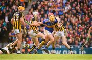 18 August 2019; Ronan Maher of Tipperary in against Billy Ryan, James Maher and TJ Reid of Kilkenny during the GAA Hurling All-Ireland Senior Championship Final match between Kilkenny and Tipperary at Croke Park in Dublin. Photo by Stephen McCarthy/Sportsfile