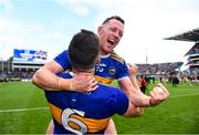 18 August 2019; Padraic Maher of Tipperary and Seán O'Brien of Tipperary after the GAA Hurling All-Ireland Senior Championship Final match between Kilkenny and Tipperary at Croke Park in Dublin. Photo by Eóin Noonan/Sportsfile
