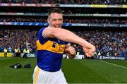 18 August 2019; Padraic Maher of Tipperary celebrates following the GAA Hurling All-Ireland Senior Championship Final match between Kilkenny and Tipperary at Croke Park in Dublin. Photo by Sam Barnes/Sportsfile
