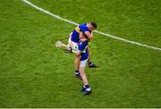 18 August 2019; Tipperary players Ronan Maher, left, and Jake Morris celebrate after the GAA Hurling All-Ireland Senior Championship Final match between Kilkenny and Tipperary at Croke Park in Dublin. Photo by Daire Brennan/Sportsfile