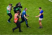18 August 2019; Tipperary manager Liam Sheedy and Ronan Maher of Tipperary celebrate after the GAA Hurling All-Ireland Senior Championship Final match between Kilkenny and Tipperary at Croke Park in Dublin. Photo by Daire Brennan/Sportsfile