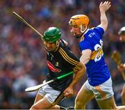 18 August 2019; Eoin Murphy of Kilkenny is tackled by Mark Kehoe of Tipperary during the GAA Hurling All-Ireland Senior Championship Final match between Kilkenny and Tipperary at Croke Park in Dublin. Photo by Ray McManus/Sportsfile