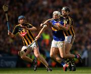 18 August 2019; Brendan Maher of Tipperary in action against John Donnelly, left, and Walter Walsh of Kilkenny during the GAA Hurling All-Ireland Senior Championship Final match between Kilkenny and Tipperary at Croke Park in Dublin. Photo by Seb Daly/Sportsfile
