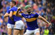 18 August 2019; Noel McGrath of Tipperary celebrates after the final whistle of the GAA Hurling All-Ireland Senior Championship Final match between Kilkenny and Tipperary at Croke Park in Dublin. Photo by Brendan Moran/Sportsfile