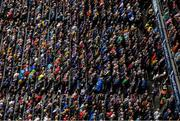 18 August 2019; Spectators watch on during the GAA Hurling All-Ireland Senior Championship Final match between Kilkenny and Tipperary at Croke Park in Dublin. Photo by Stephen McCarthy/Sportsfile