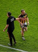 18 August 2019; Selector Derek Lyng consoles Richie Hogan after he was sent off during the GAA Hurling All-Ireland Senior Championship Final match between Kilkenny and Tipperary at Croke Park in Dublin. Photo by Daire Brennan/Sportsfile