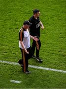 18 August 2019; Kilkenny manager Brian Cody and selector Derek Lyng argue with the officials after Richie Hogan was shown a red card during the GAA Hurling All-Ireland Senior Championship Final match between Kilkenny and Tipperary at Croke Park in Dublin. Photo by Daire Brennan/Sportsfile