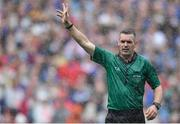 18 August 2019; Referee James Owens during the GAA Hurling All-Ireland Senior Championship Final match between Kilkenny and Tipperary at Croke Park in Dublin. Photo by Piaras Ó Mídheach/Sportsfile