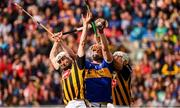 18 August 2019; Michael Breen of Tipperary in action against Conor Fogarty, left, and Conor Browne of Kilkenny during the GAA Hurling All-Ireland Senior Championship Final match between Kilkenny and Tipperary at Croke Park in Dublin. Photo by Stephen McCarthy/Sportsfile