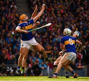 18 August 2019; Ronan Maher of Tipperary in action against Colin Fennelly of Kilkenny during the GAA Hurling All-Ireland Senior Championship Final match between Kilkenny and Tipperary at Croke Park in Dublin. Photo by Stephen McCarthy/Sportsfile