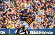 18 August 2019; TJ Reid of Kilkenny in action against Brendan Maher of Tipperary during the GAA Hurling All-Ireland Senior Championship Final match between Kilkenny and Tipperary at Croke Park in Dublin. Photo by Brendan Moran/Sportsfile