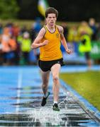 18 August 2019; Luke Griffin of Ballynacally-Lissycasey, Co Clare on his way to winning the Boys U16 1500m final during Day 2 of the Aldi Community Games August Festival, which saw over 3,000 children take part in a fun-filled weekend at UL Sports Arena in University of Limerick, Limerick. Photo by David Fitzgerald/Sportsfile