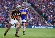 18 August 2019; Paddy Deegan of Kilkenny in action against John McGrath of Tipperary during the GAA Hurling All-Ireland Senior Championship Final match between Kilkenny and Tipperary at Croke Park in Dublin. Photo by Sam Barnes/Sportsfile