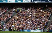 18 August 2019; TJ Reid of Kilkenny takes a free during the GAA Hurling All-Ireland Senior Championship Final match between Kilkenny and Tipperary at Croke Park in Dublin. Photo by Sam Barnes/Sportsfile
