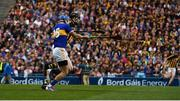 18 August 2019; Walter Walsh of Kilkenny in action against John McGrath of Tipperary during the GAA Hurling All-Ireland Senior Championship Final match between Kilkenny and Tipperary at Croke Park in Dublin. Photo by Sam Barnes/Sportsfile