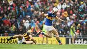 18 August 2019; Brendan Maher of Tipperary in action against Colin Fennelly during the GAA Hurling All-Ireland Senior Championship Final match between Kilkenny and Tipperary at Croke Park in Dublin. Photo by Sam Barnes/Sportsfile