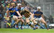 18 August 2019; John O'Dwyer of Tipperary in action against Séamus Kennedy, left, and Brendan Maher of Tipperary during the GAA Hurling All-Ireland Senior Championship Final match between Kilkenny and Tipperary at Croke Park in Dublin. Photo by Sam Barnes/Sportsfile