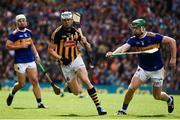 18 August 2019; TJ Reid of Kilkenny in action against Noel McGrath of Tipperary during the GAA Hurling All-Ireland Senior Championship Final match between Kilkenny and Tipperary at Croke Park in Dublin. Photo by Sam Barnes/Sportsfile