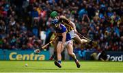 18 August 2019; Jason Forde of Tipperary in action against Joey Holden of Kilkenny during the GAA Hurling All-Ireland Senior Championship Final match between Kilkenny and Tipperary at Croke Park in Dublin. Photo by Sam Barnes/Sportsfile