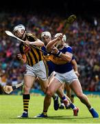 18 August 2019; TJ Reid of Kilkenny in action against Padraic Maher of Tipperary during the GAA Hurling All-Ireland Senior Championship Final match between Kilkenny and Tipperary at Croke Park in Dublin. Photo by Sam Barnes/Sportsfile