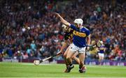18 August 2019; Niall O'Meara of Tipperary in action against Paddy Deegan of Kilkenny during the GAA Hurling All-Ireland Senior Championship Final match between Kilkenny and Tipperary at Croke Park in Dublin. Photo by Sam Barnes/Sportsfile