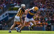 18 August 2019; Mark Kehoe of Tipperary in action against Conor Fogarty of Kilkenny during the GAA Hurling All-Ireland Senior Championship Final match between Kilkenny and Tipperary at Croke Park in Dublin. Photo by Sam Barnes/Sportsfile