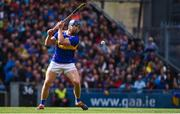 18 August 2019; Jason Forde of Tipperary takes a free during the GAA Hurling All-Ireland Senior Championship Final match between Kilkenny and Tipperary at Croke Park in Dublin. Photo by Sam Barnes/Sportsfile