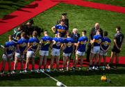 18 August 2019; President of Ireland Michael D Higgins meets the Tipperary players prior to the GAA Hurling All-Ireland Senior Championship Final match between Kilkenny and Tipperary at Croke Park in Dublin. Photo by Stephen McCarthy/Sportsfile