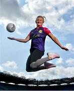 19 August 2019; In attendance at the official launch of the Lidl #SeriousSupport Schools Programme at Croke Park in Dublin, proudly supported by the Ladies Gaelic Football Association and delivered by the Youth Sports Trust, is footballer Carla Rowe of Dublin. Lidl Ireland has invested over €125,000 in this new initiative which aims to reduce the drop-off rate in sport participation amongst girls aged 11-14 years. Photo by David Fitzgerald/Sportsfile