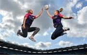 19 August 2019; In attendance at the official launch of the Lidl #SeriousSupport Schools Programme at Croke Park in Dublin, proudly supported by the Ladies Gaelic Football Association and delivered by the Youth Sports Trust, are footballers Carla Rowe of Dublin, left, and Sinéad Burke of Galway. Lidl Ireland has invested over €125,000 in this new initiative which aims to reduce the drop-off rate in sport participation amongst girls aged 11-14 years. Photo by David Fitzgerald/Sportsfile